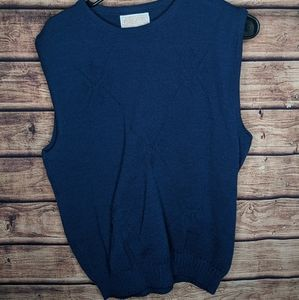 Vintage Pendleton sweater vest medium blue